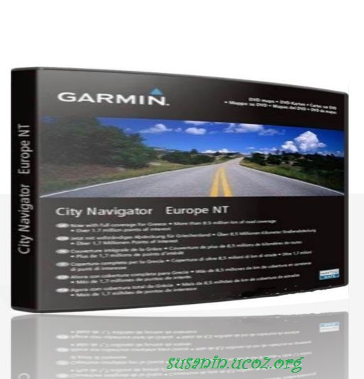 City Navigator Europe NT 2012.10 + Mapsource
