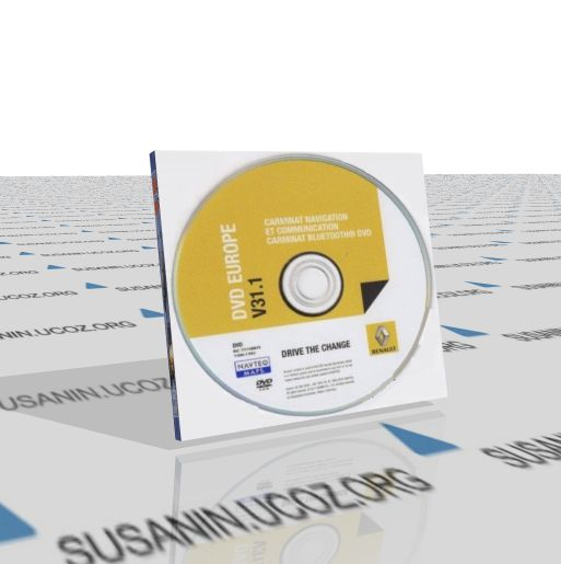 Renault Carminat Navigation DVD Europe V31.1