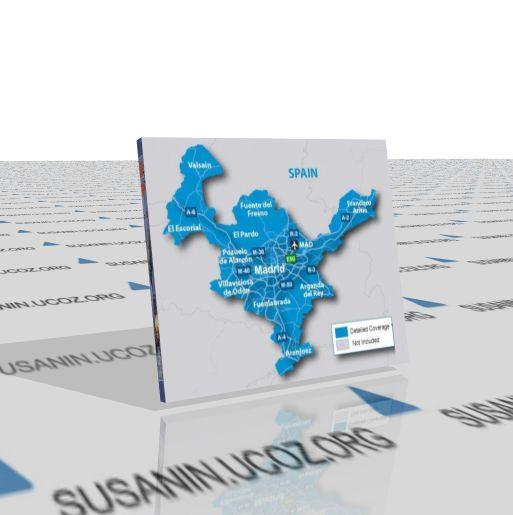 Gps-карта мадрида для гармин (2011.10)