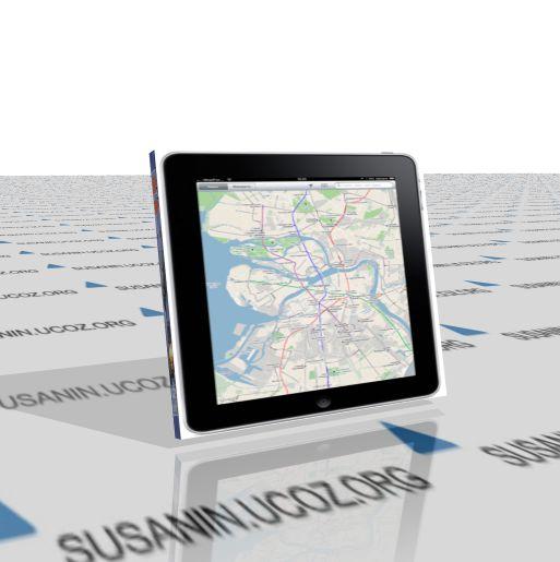 Карта для iPad, сокращённая (Google и Яndex)