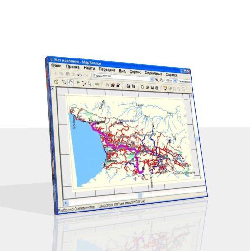 карта грузии для Igo Primo - фото 8