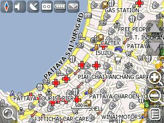 Полная карта Тайланда (Thailand, Pattaya, Phuket) для Навител Навигатора