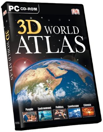 Скачать программу ATLAS 3D World (08.2010) бесплатно для компьютера