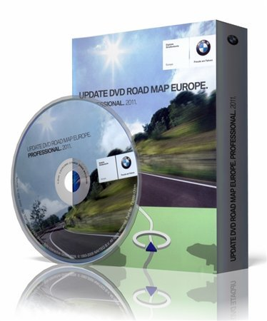 BMW Navigation DVD Road map All Europe Professional 2011 (2010/Multi)