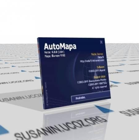 AutoMapa Final 6.8.0.1384 Europe и Россия 1102 6.160 (18.03.11) Многоязычная версия