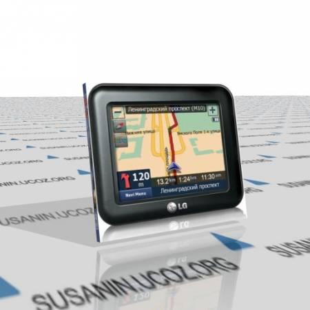 Сборка для навигатора LG N10 win CE5