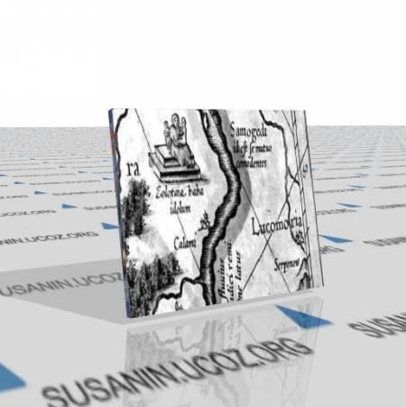 (Топографические карты) Россия-Тартария [XVI - XIX в, jpg, jpeg]