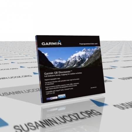 Garmin: Топографическая карта Великобритании / Discoverer Great Britain 2010