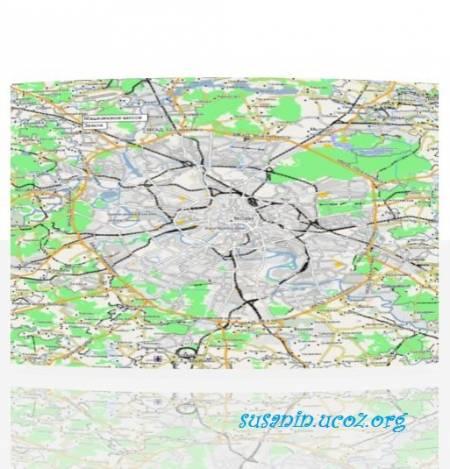 Карта России (Garmin OpenStreetMap Russia: обновление 05.01.12)
