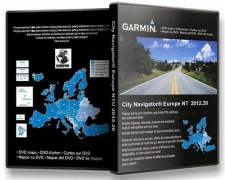 Скачать бесплатно Garmin City Navigator Europe NT 2012.20 (MapSourse + IMG Unlocked / Раздельно по странам/ FID: 2473 без регистрации