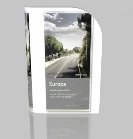 Навигация для Audi MMI High (MMI 2G) Navigation DVD Edition 2012 Europe